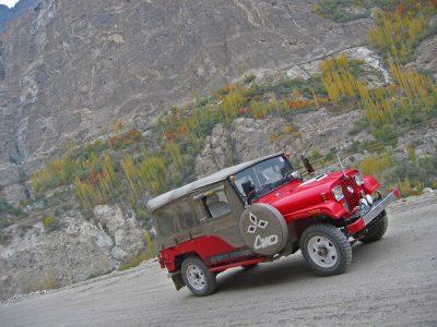 jeep safari in pakistan